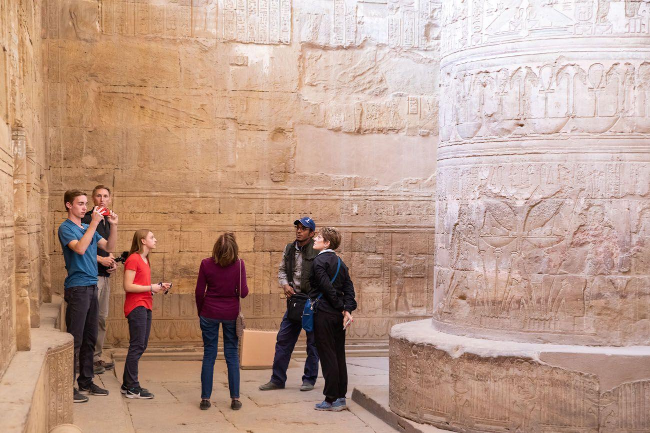 In Hathor Temple Dendera