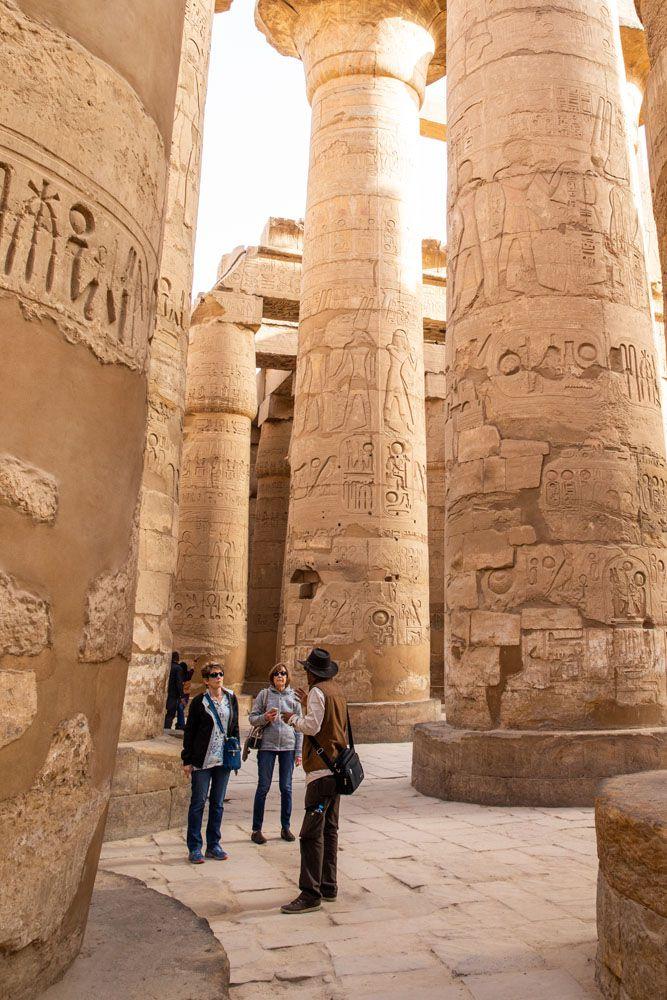 Inside Karnak Temple Egypt Travel Tips