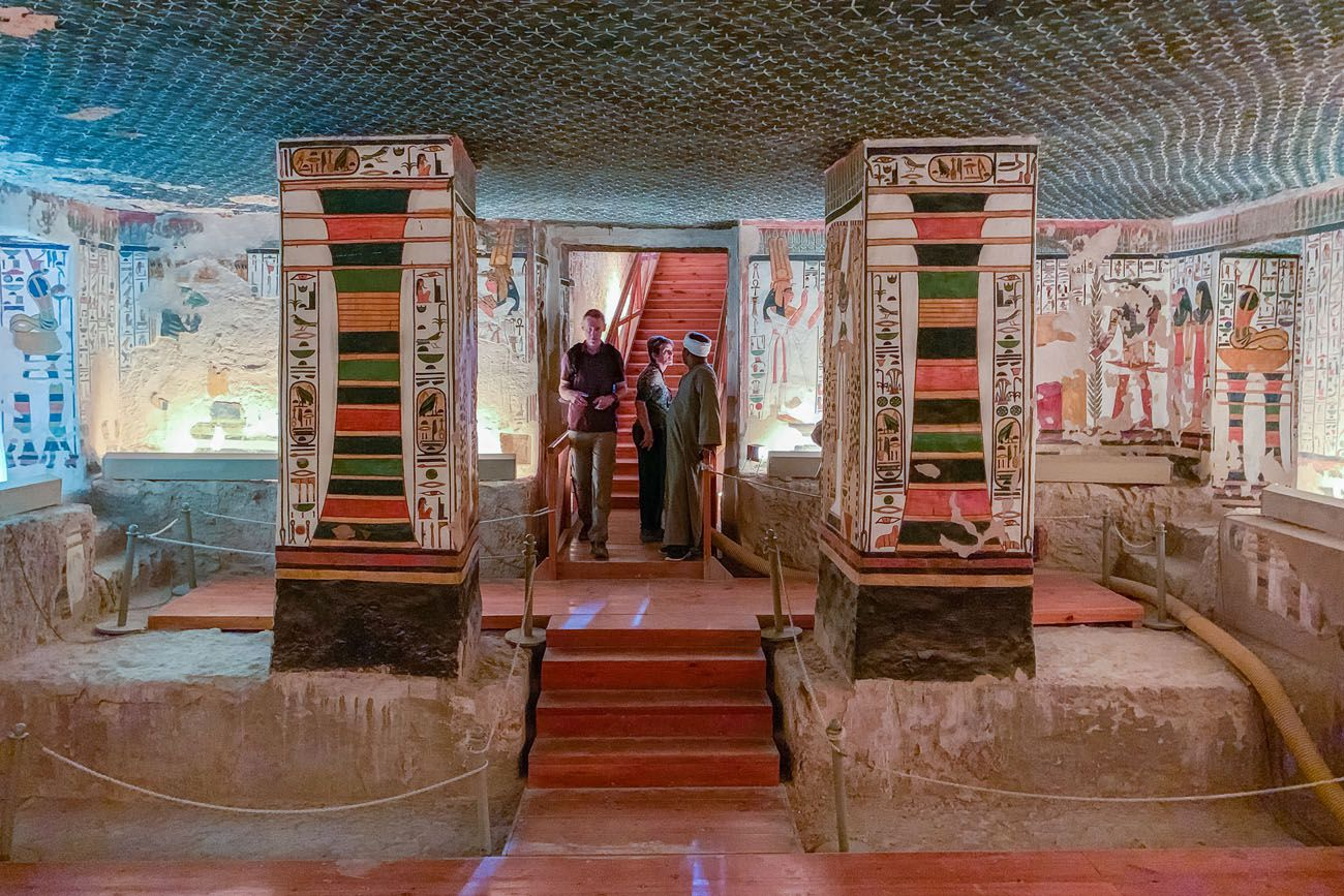 Inside Nefertari Tomb