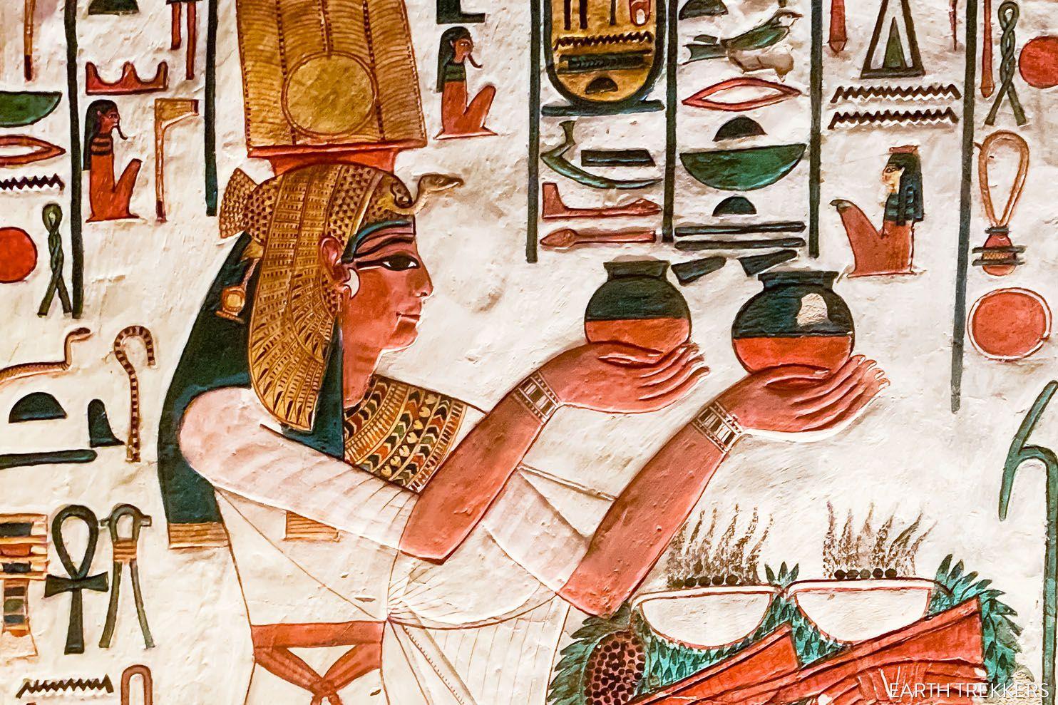 Inside Tomb of Nefertari