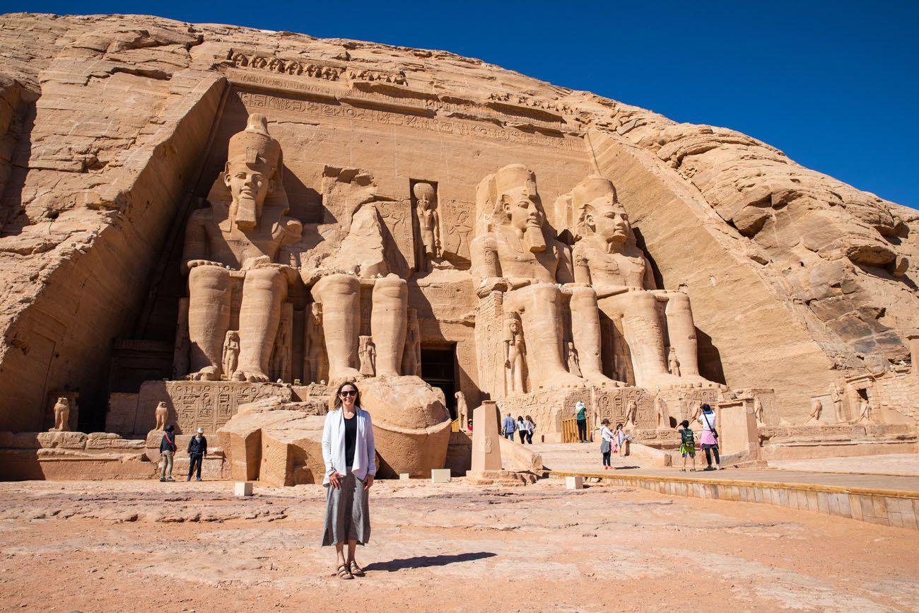 Julie Rivenbark Abu Simbel