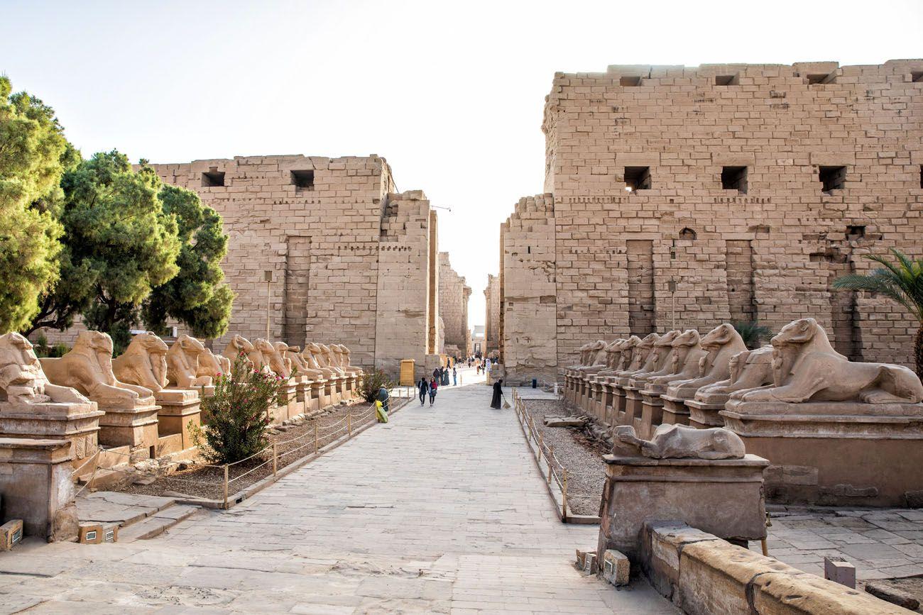 Karnak Temple Entrance