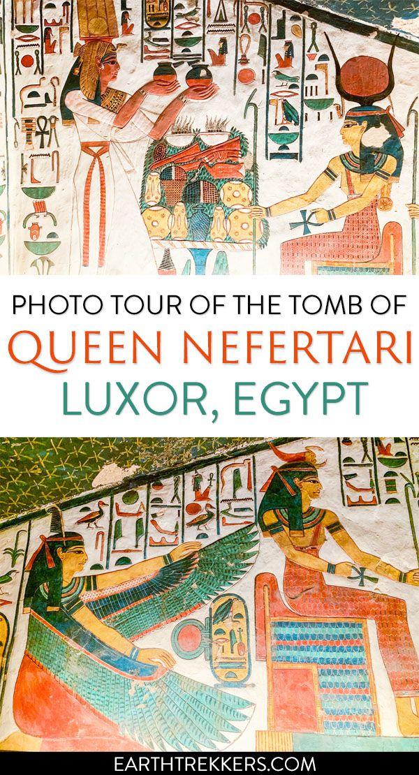Luxor Egypt Nefertari Tomb in Photos