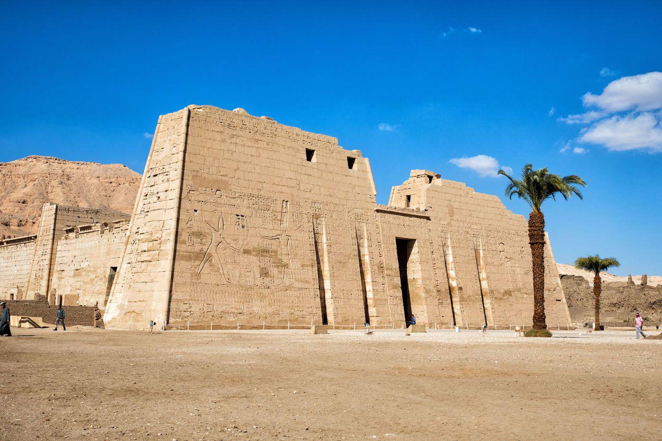 Medinet Habu Egypt Itinerary