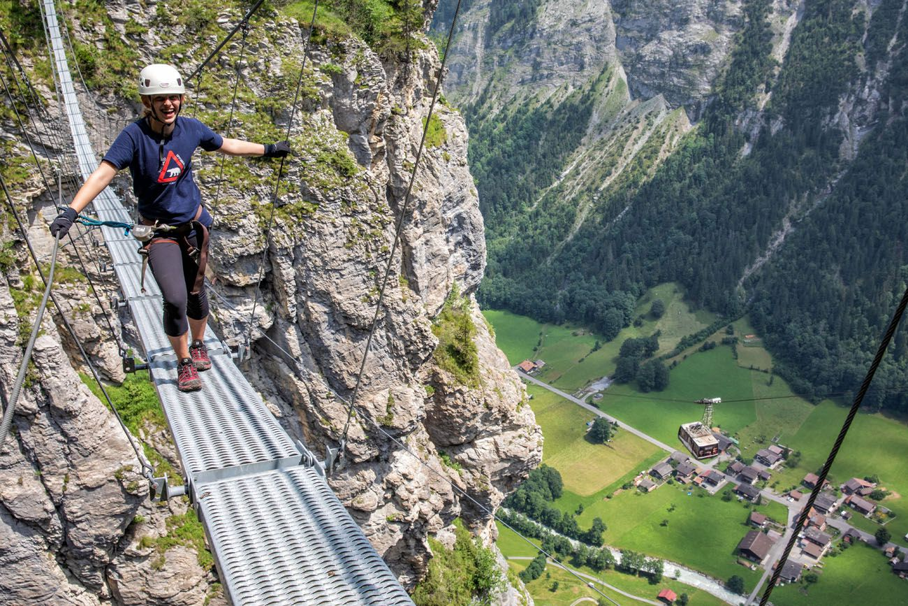 Murren Via Ferrata Switzerland Itinerary