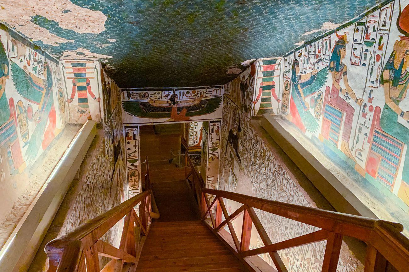 Nefertari Staircase