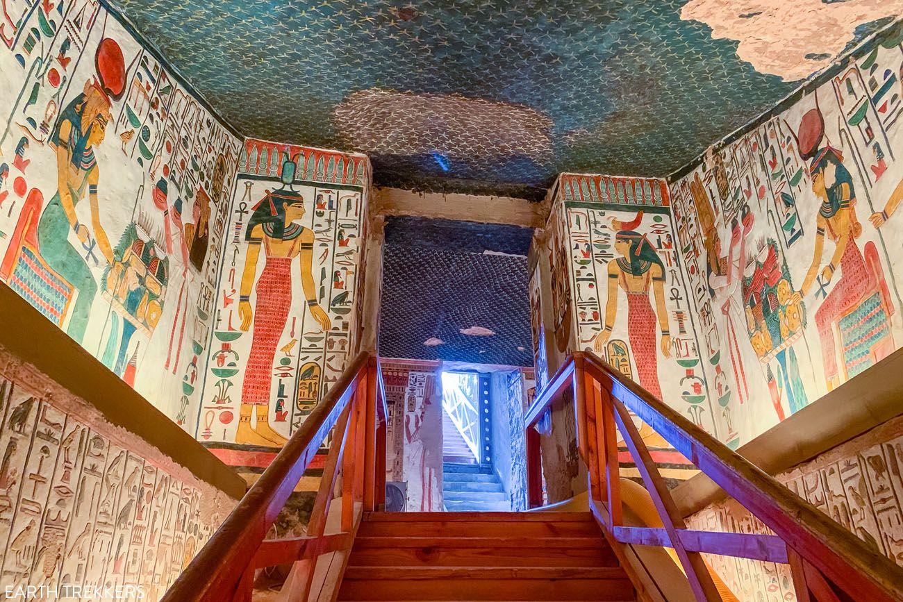 Nefertari Tomb Stairs