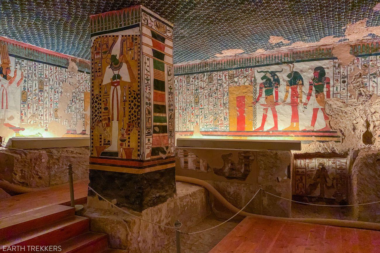 Nefertari Tomb Valley of the Queens