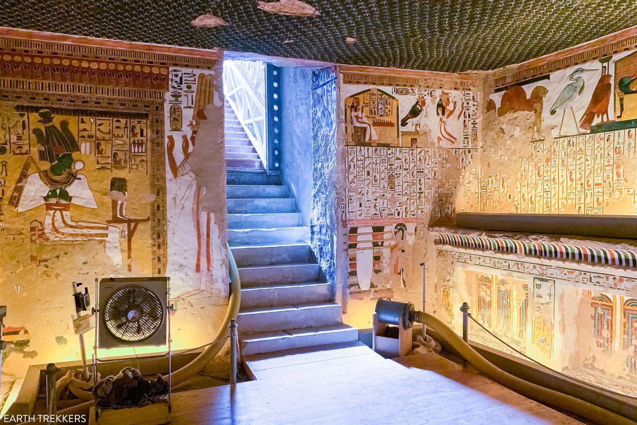 Nefertari Tomb in Valley of the Queens