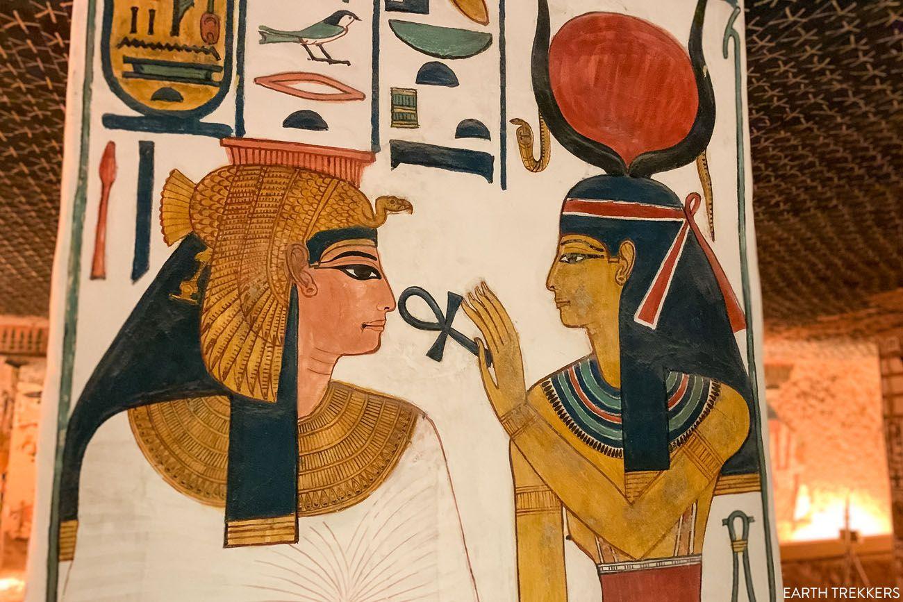 Nefertari and Goddess
