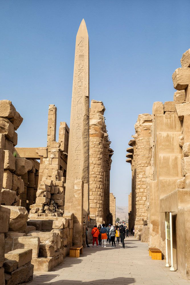 Obelisk Karnak Temple