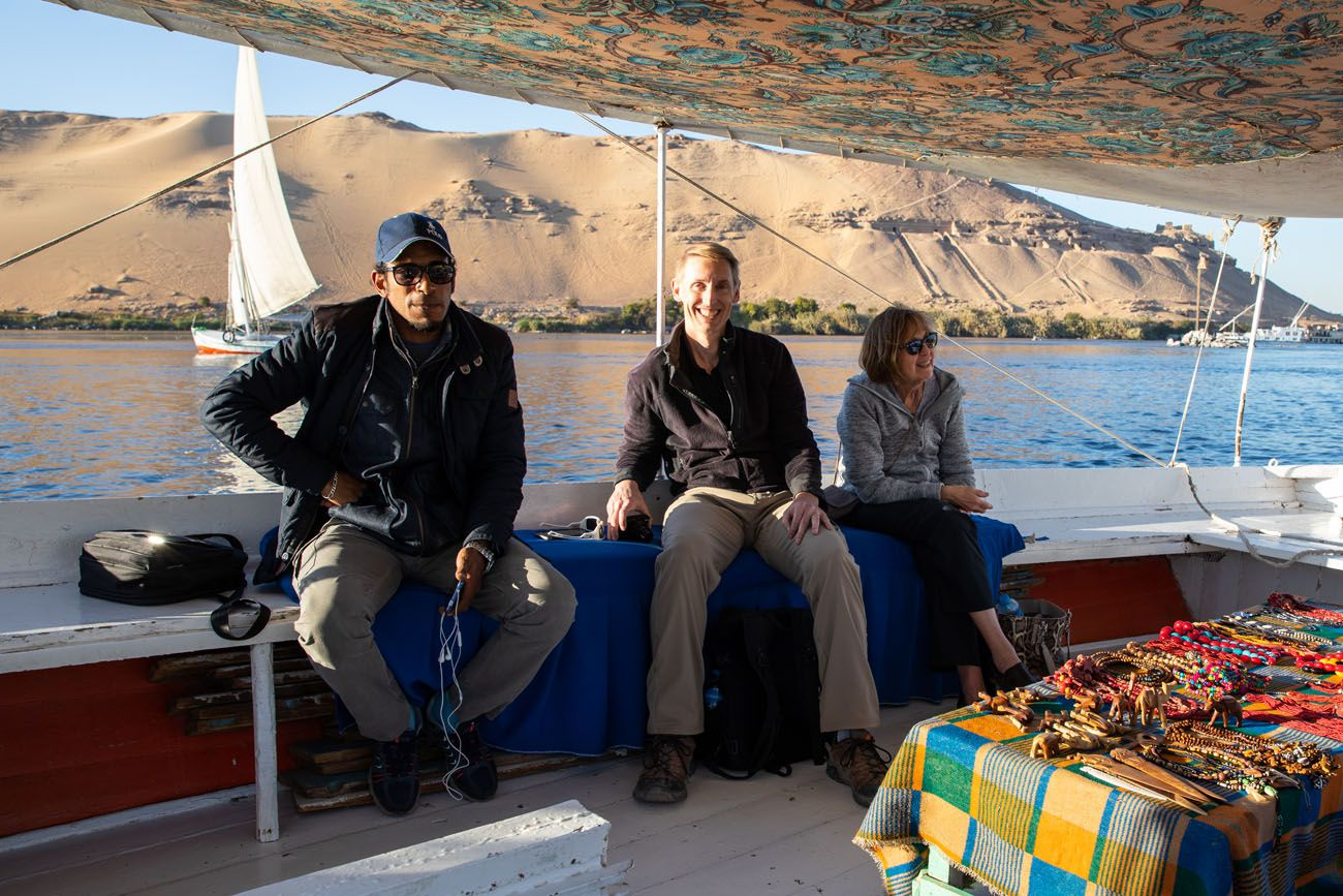 On a Felucca