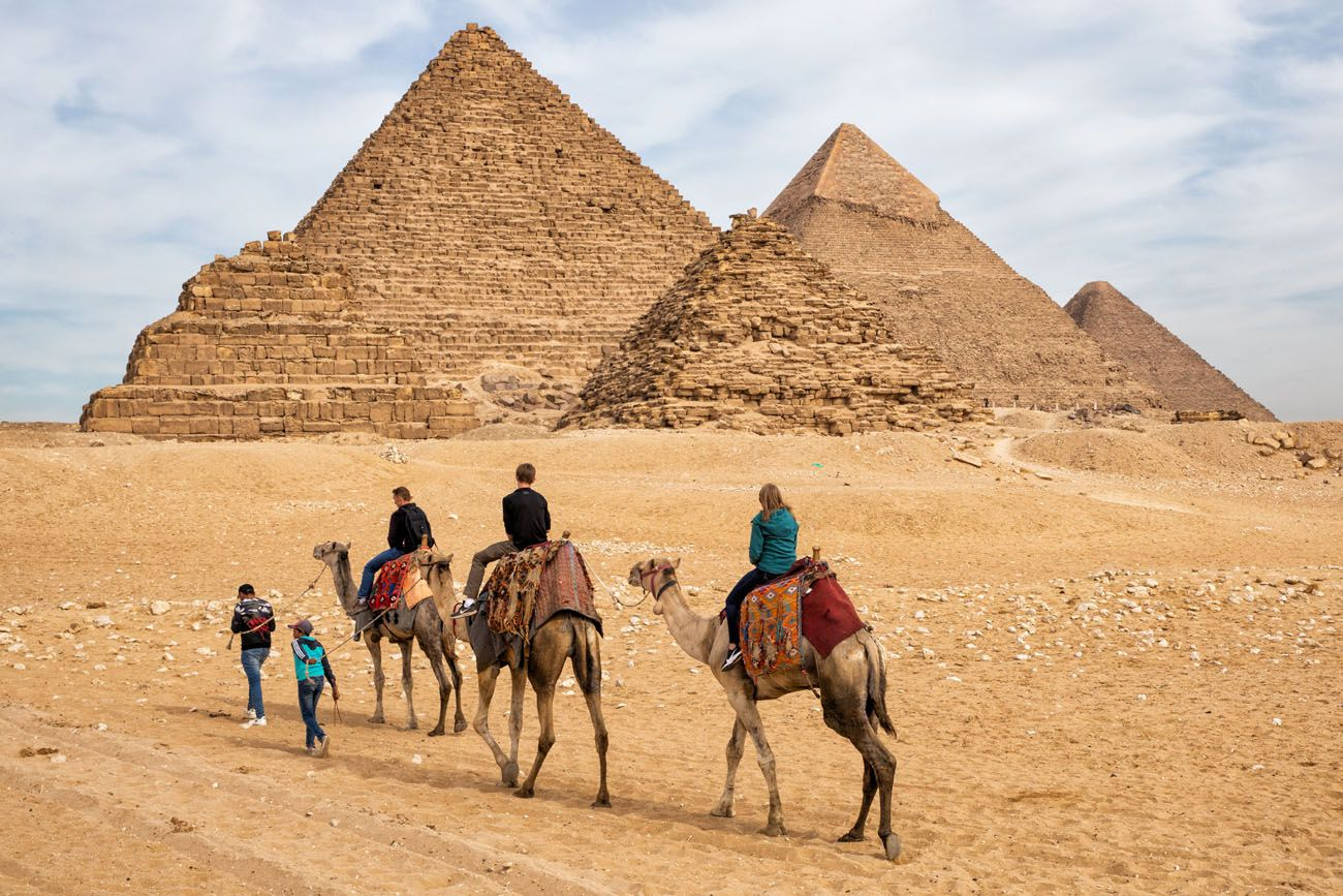 Pyramid Camel Ride