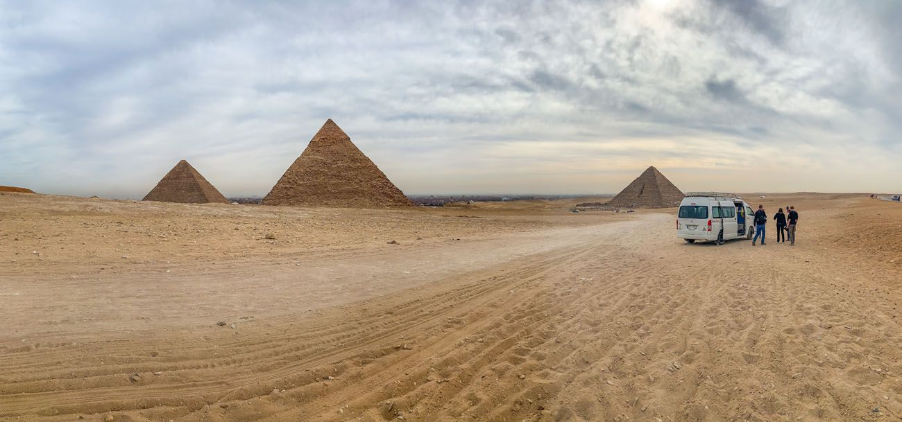 Pyramids Panorama iPhone