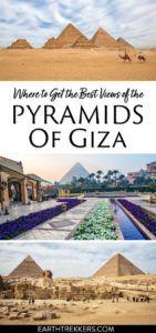 Pyramids of Giza Egypt Best Views