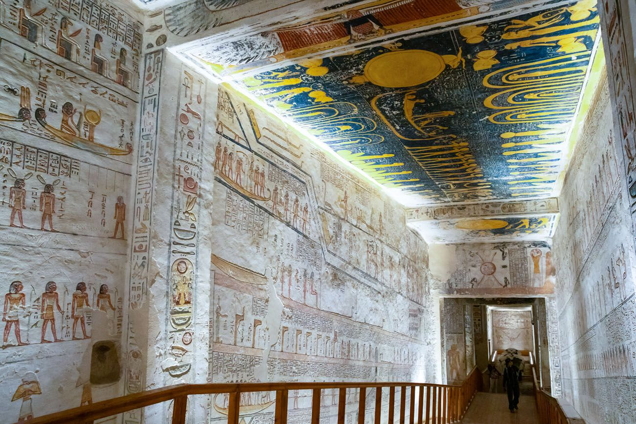 Ramesses V and VI Egypt