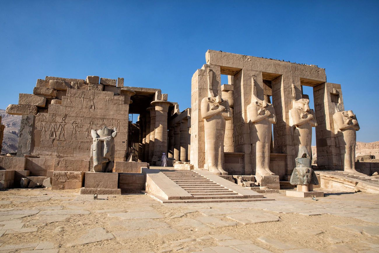 Ramesseum 10 Days in Egypt Itinerary