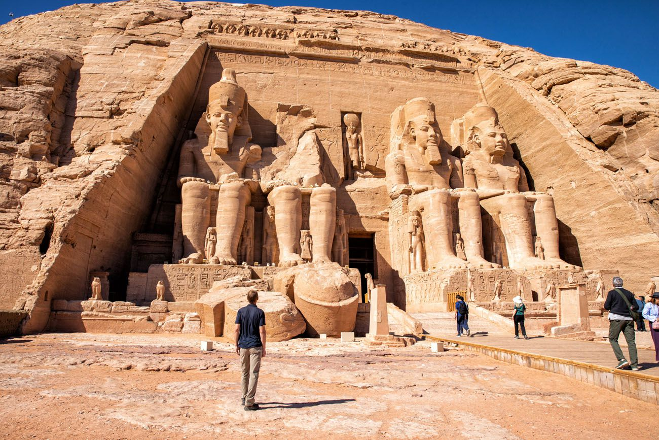 Tim Rivenbark at Abu Simbel