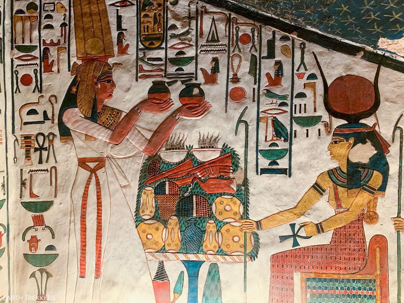 Tomb of Queen Nefertari Egypt Travel Tips
