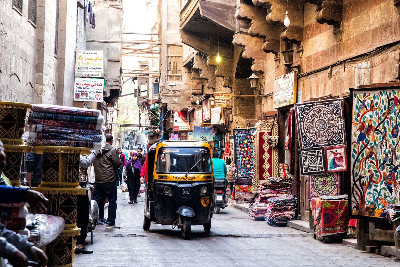 Tuk Tuk in Old Cairo