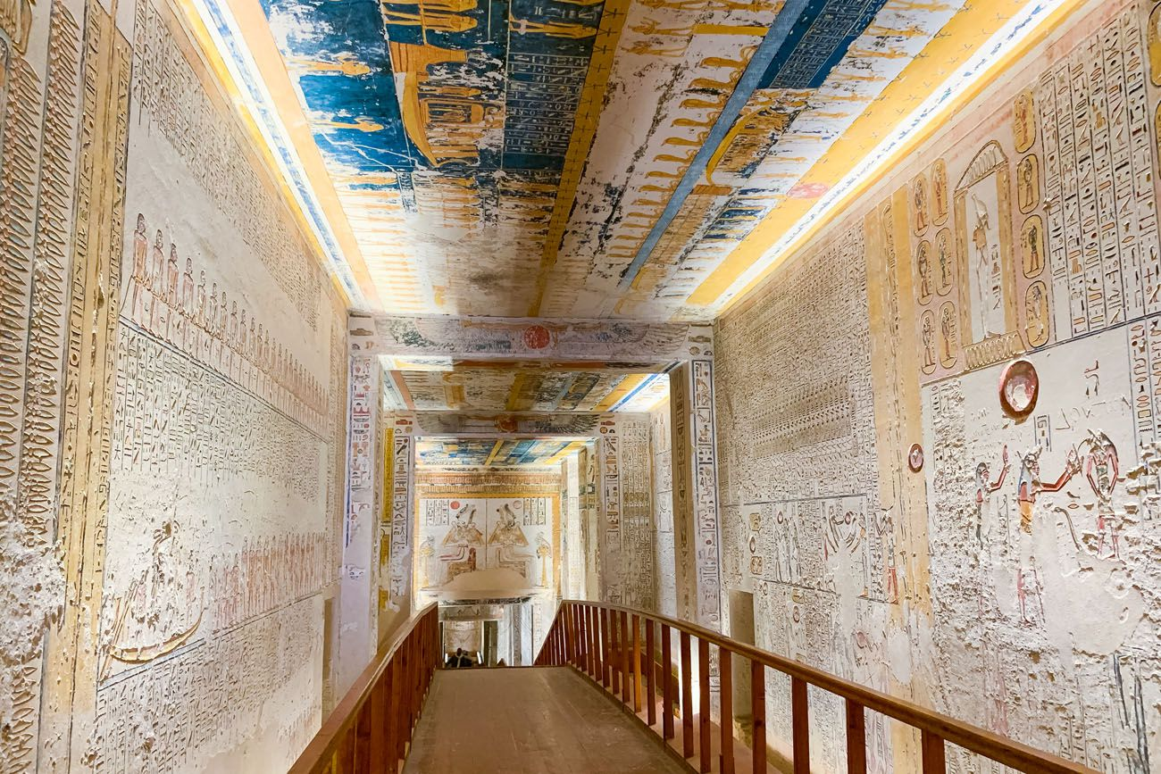 Valley of the Kings Ramesses V and VI