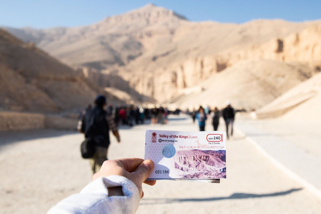 Valley of the Kings Ticket