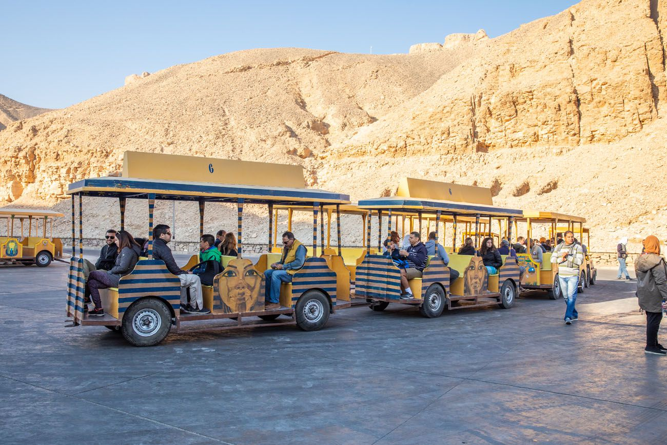 Valley of the Kings Tram