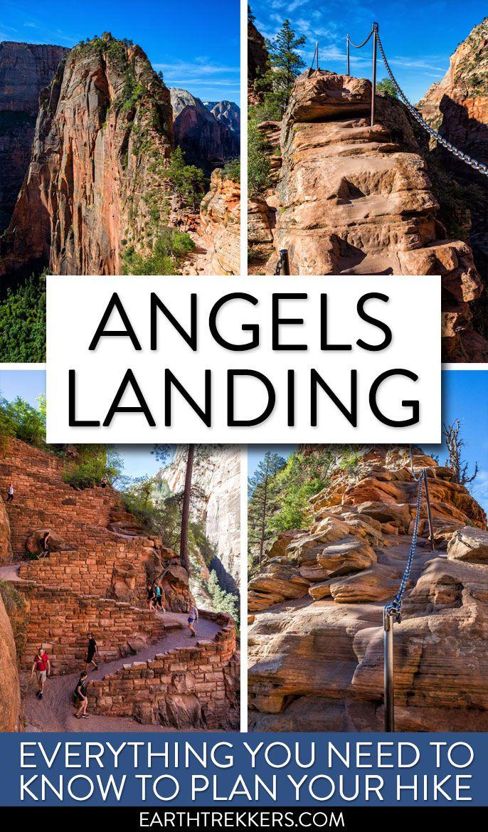 Angels Landing Hike Zion National Park