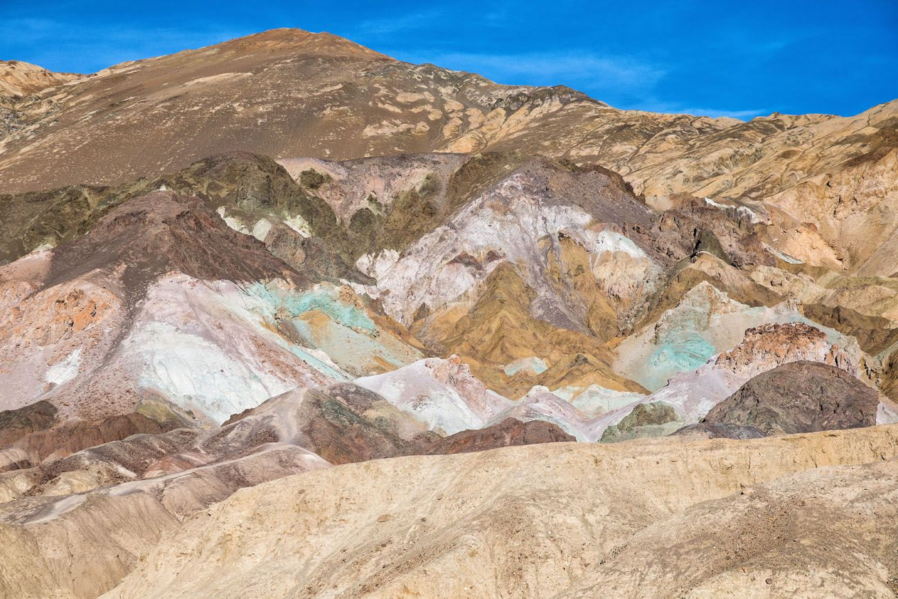 Artist Palette Death Valley Day Trip