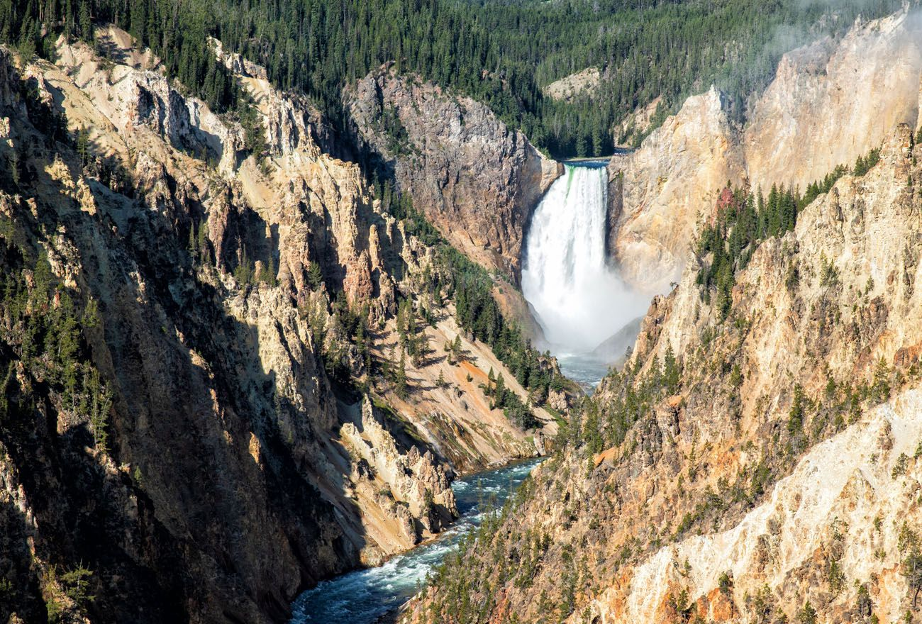 Artist Point Yellowstone Itinerary