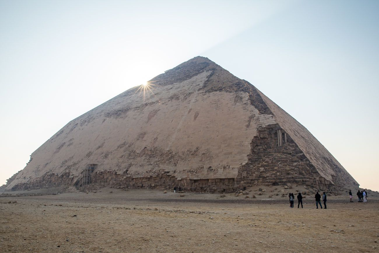 Bent Pyramid Sunrise