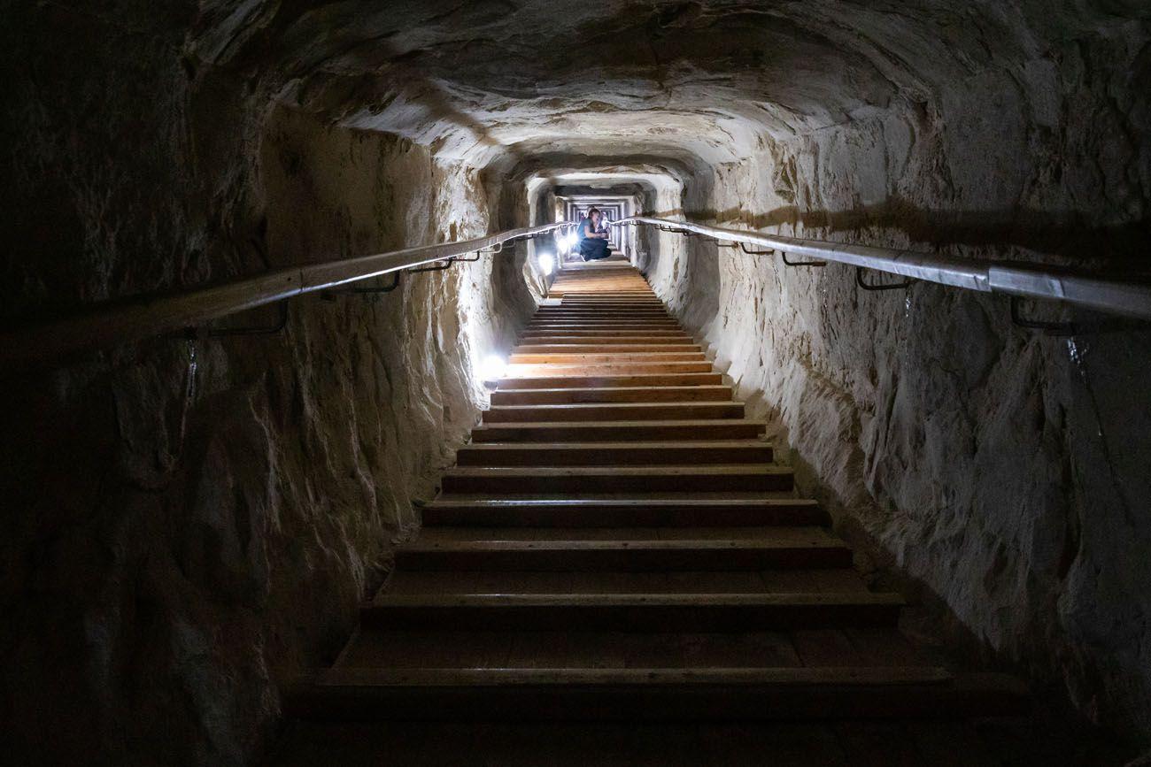 Bent Pyramid Tunnel