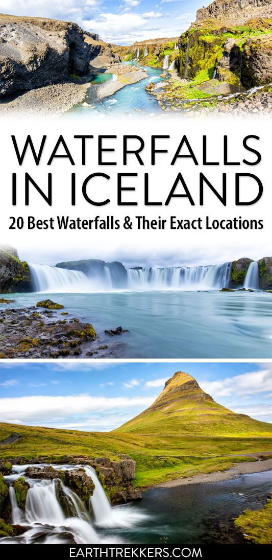 Best Waterfalls in Iceland Travel Guide