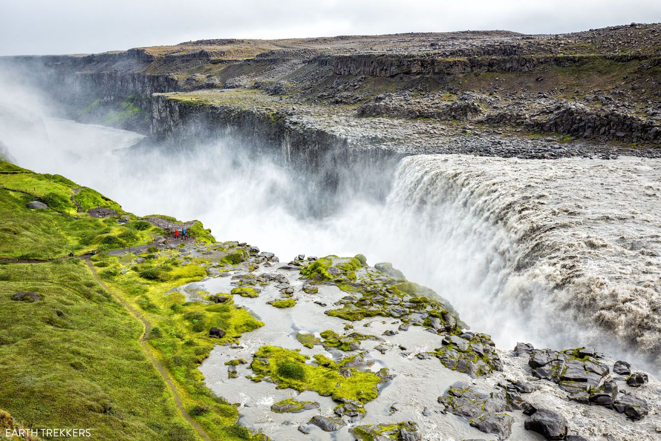 Dettifoss West Bank