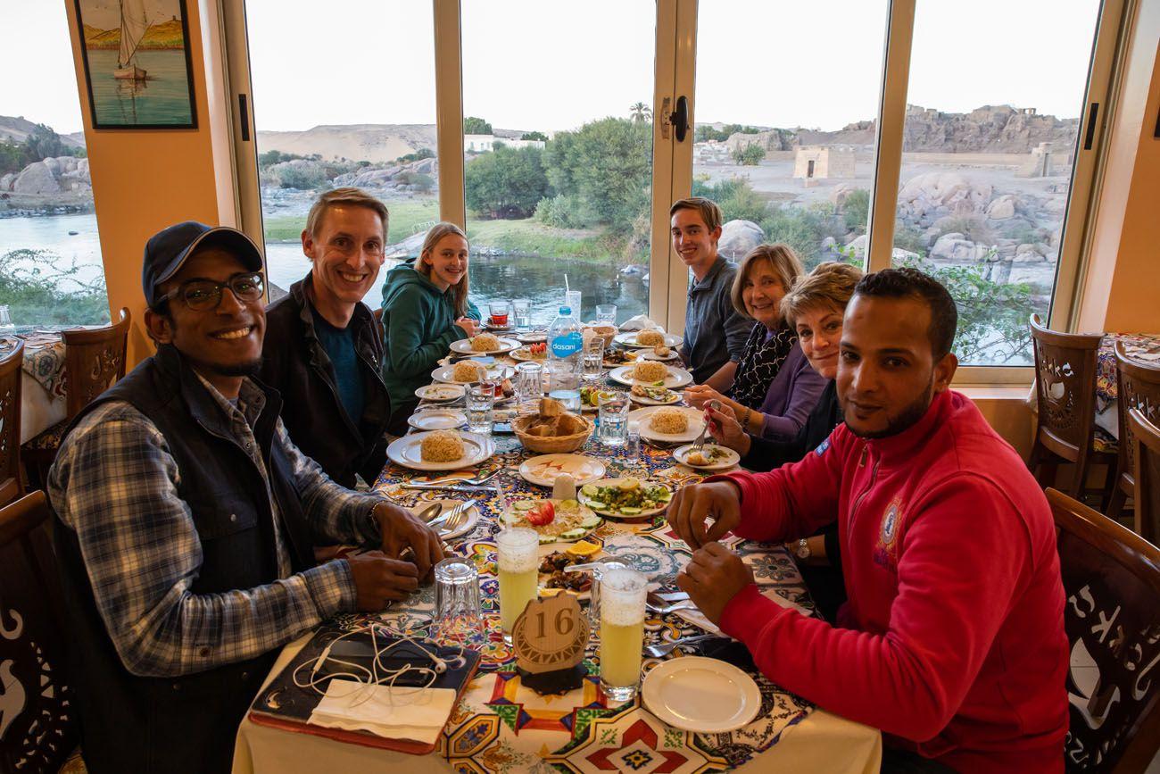 Dinner in Aswan