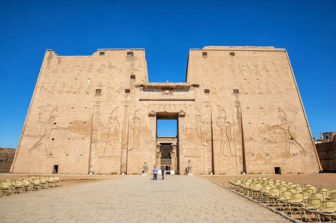 Driving Between Aswan and Luxor
