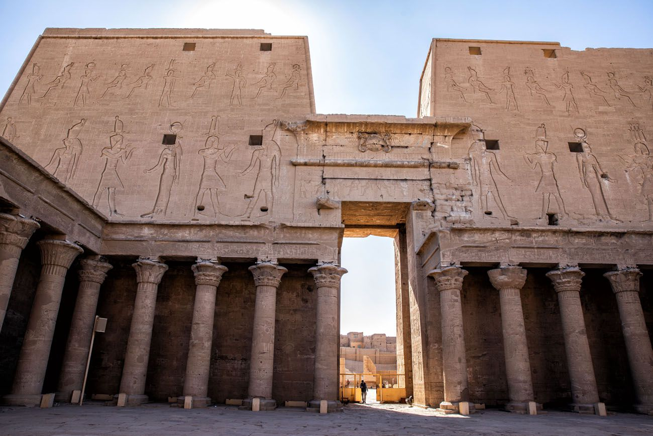 Edfu Pylon