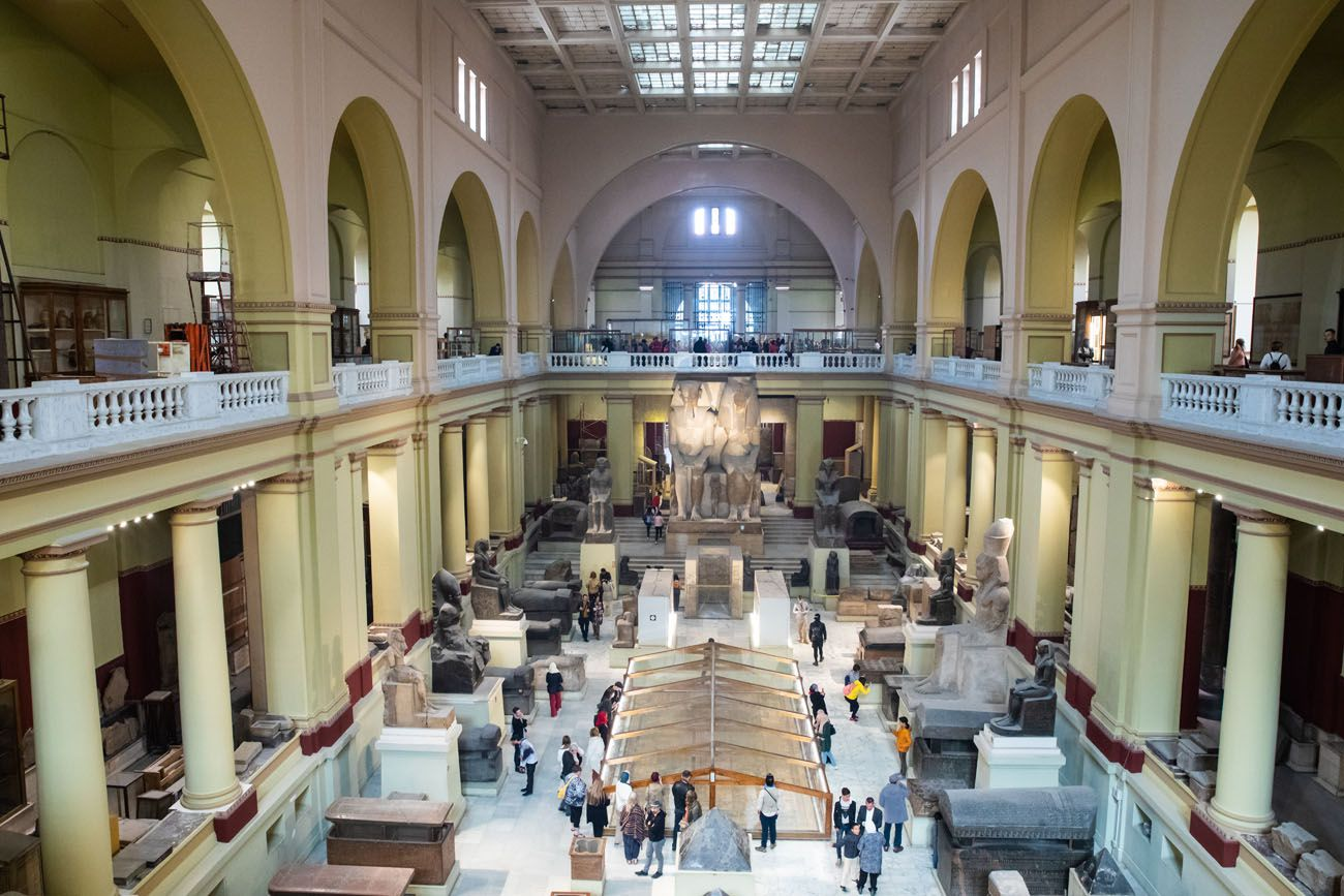 Egyptian Museum Interior