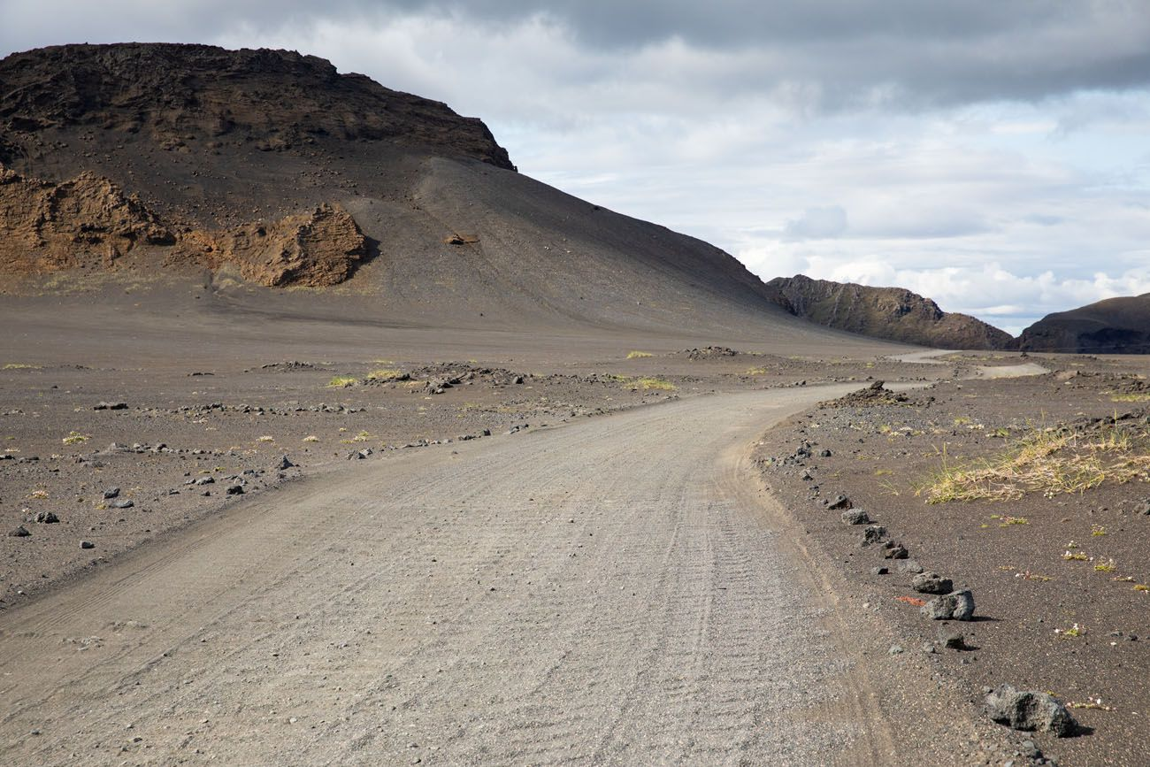 F-Road to Landmannalaugar