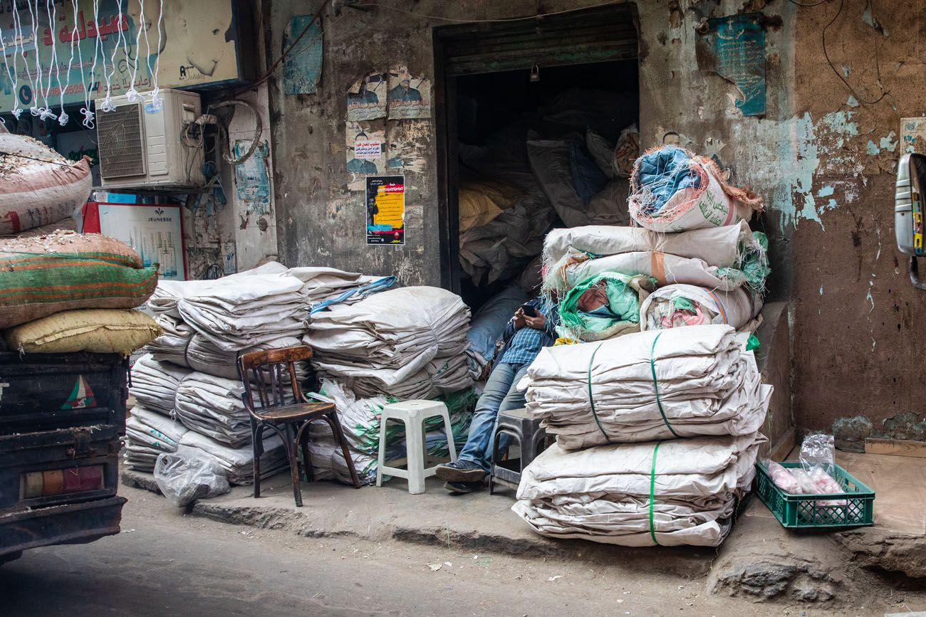 Garbage City Cairo