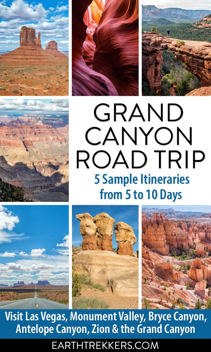 Grand Canyon Road Trip Ideas