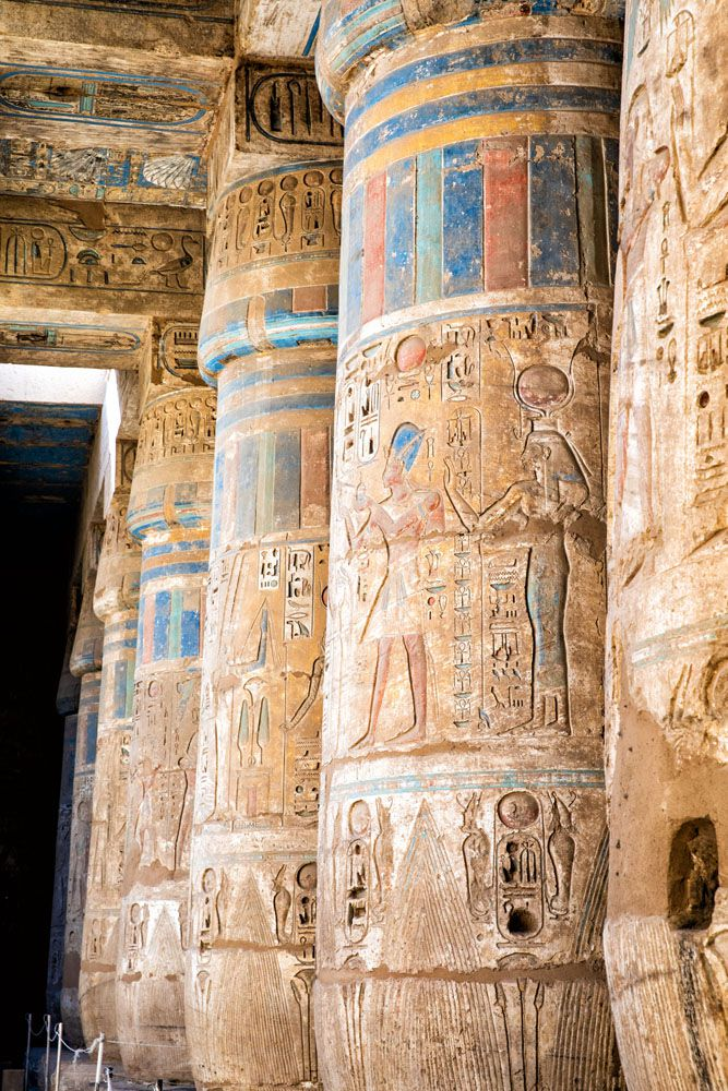 Habu Temple West Bank of Luxor
