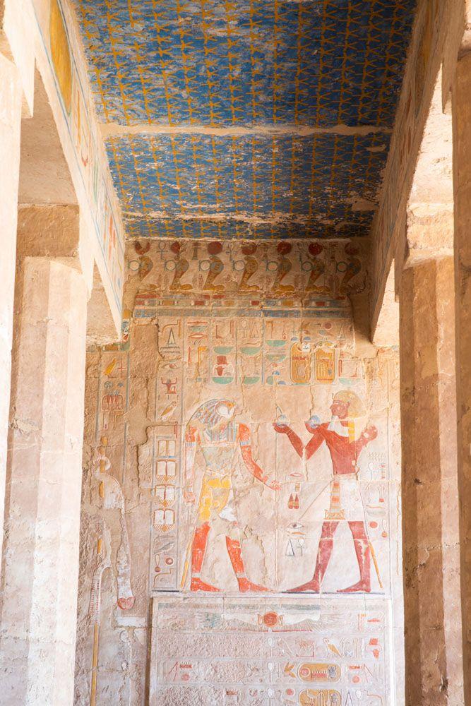 Hatshepsut Temple Relief