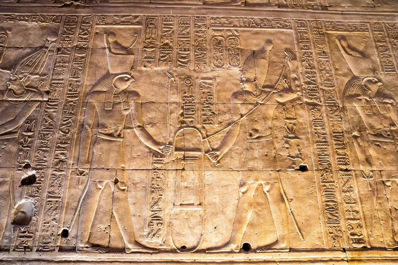 High Relief Edfu Temple