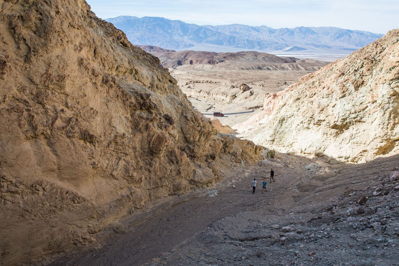 Hiking Trail Death Valley Day Trip
