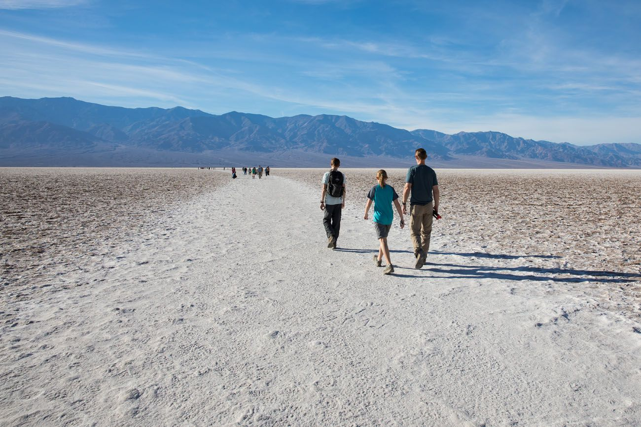 How to Day Trip to Death Valley