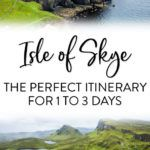 Isle of Skye Scotland Itinerary