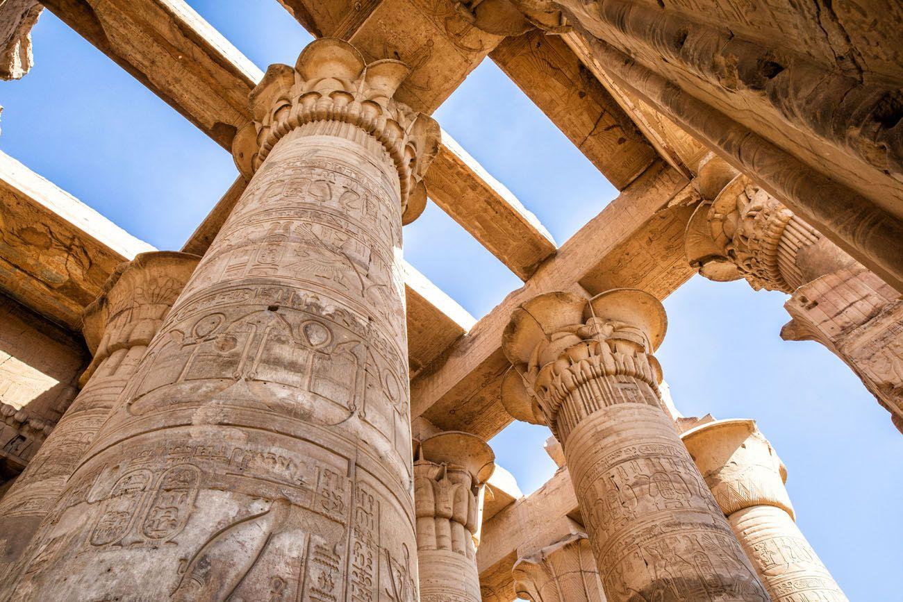 Kom Ombo Columns