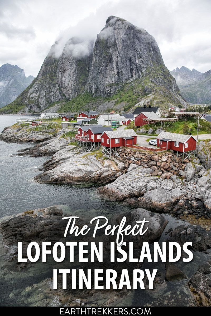 Lofoten Islands Itinerary Norway