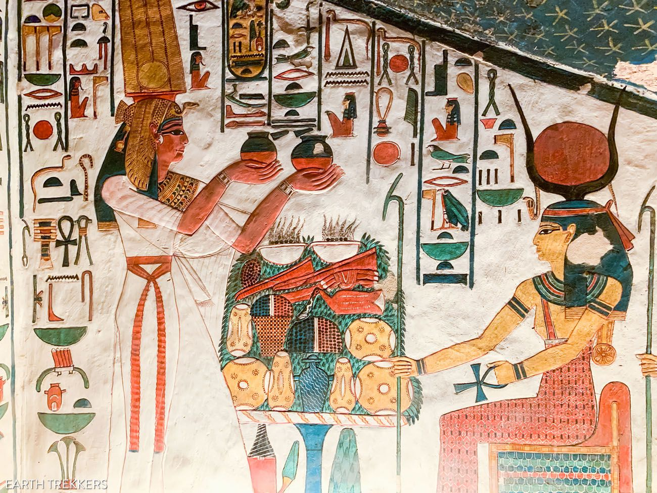 Nefertari Tomb West Bank of Luxor